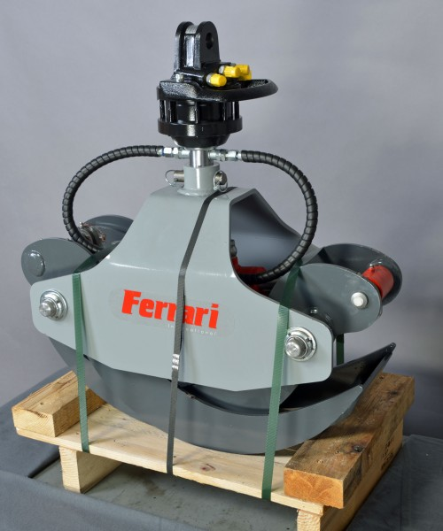 Ferrari houtgrijper FLG 15L + rotator FR15