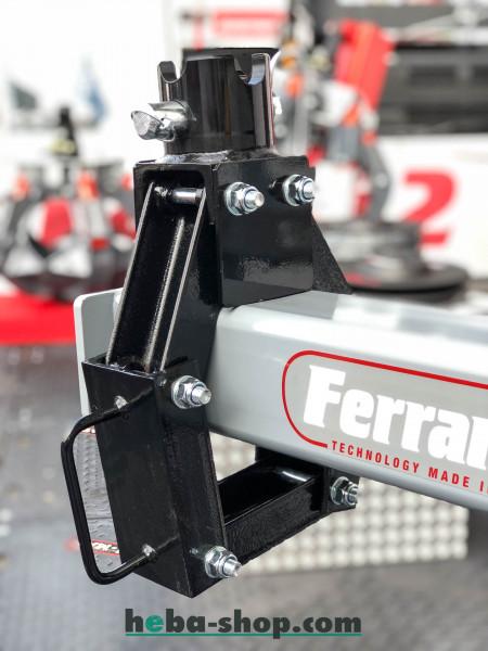 Ferrari ophanging voor kraanvork FPF 20 S/X; montage 59 x 30 mm